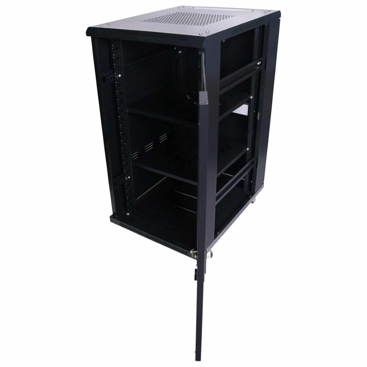 22ru 600mm deep x 600mm wide rack cabinet hcc for 10 deep floor cabinet