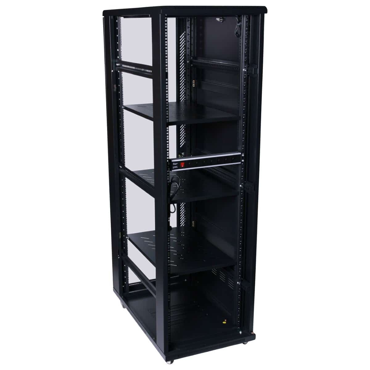 45ru 1000mm deep x 600mm wide rack cabinet hcc for 100 floors floor 45