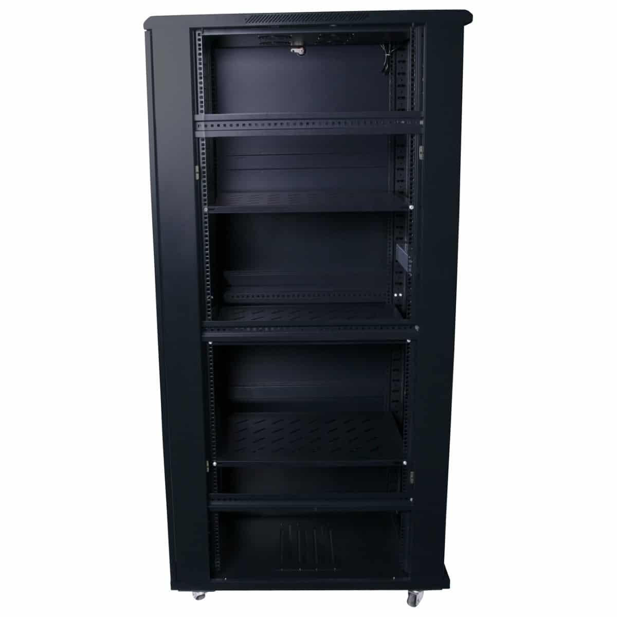 45ru 800mm deep x 600mm wide rack cabinet hcc for 10 deep floor cabinet