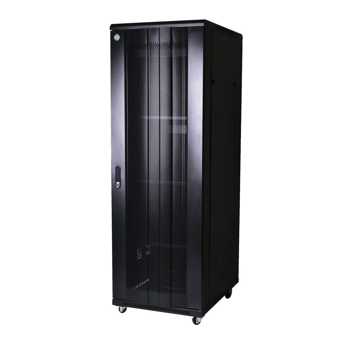 Curved 37RU 800mm Deep X 600mm Wide Rack Cabinet