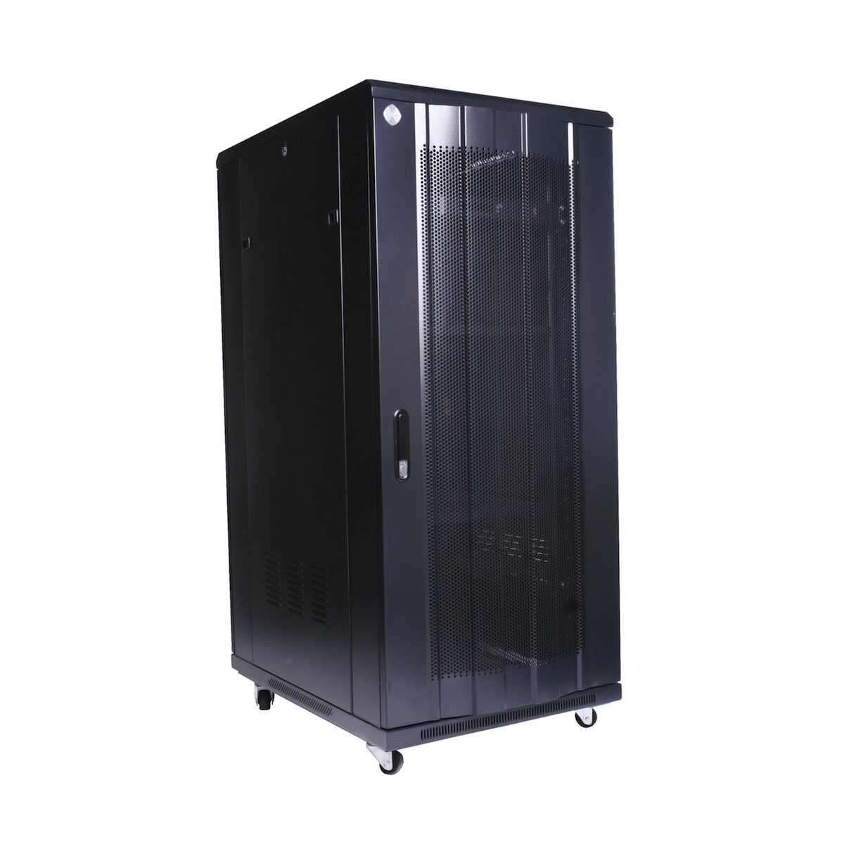 Curved 27RU 1000mm Deep X 600mm Wide Rack Cabinet