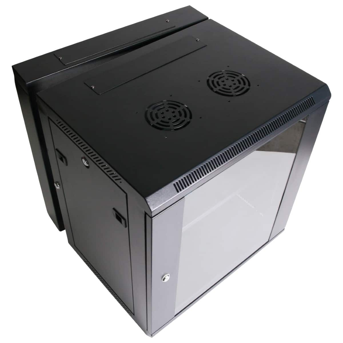 12RU 550mm Deep Wall Mount Cabinet