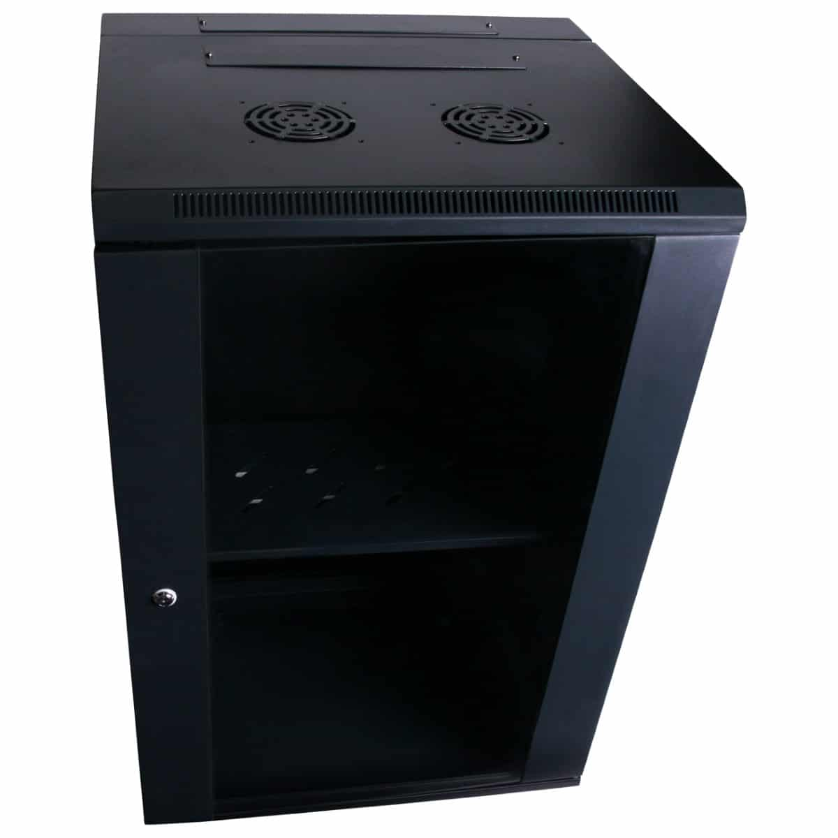 24RU 600mm Deep Wall Mount Cabinet
