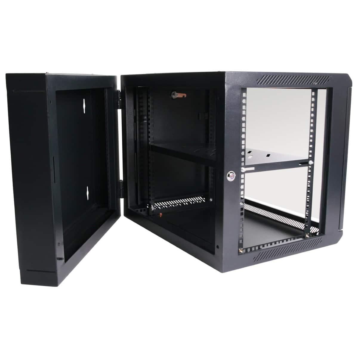 9ru 550mm Deep Wall Mount Cabinet Swing Frame Hcc