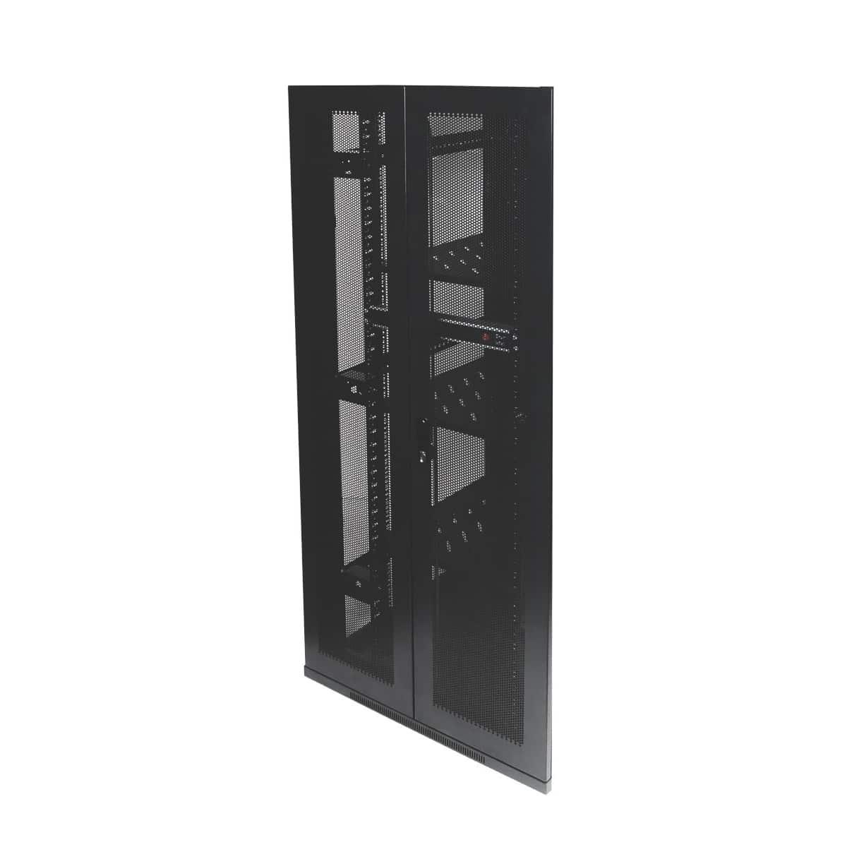 Bi Fold Mesh Door For 42ru 800mm Wide Free Standing